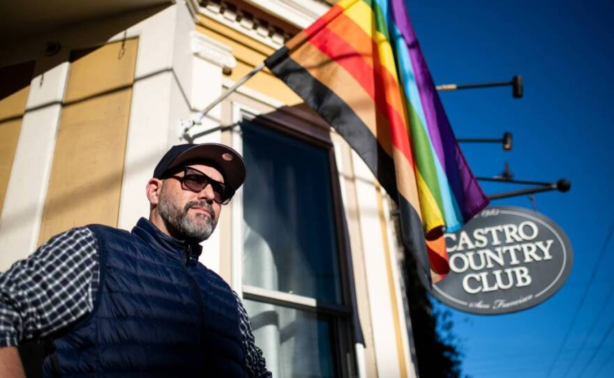 Executive Director Billy Lemon of the Castro Country Club at the sober social space in San Francisco on Jan. 14, 2021.