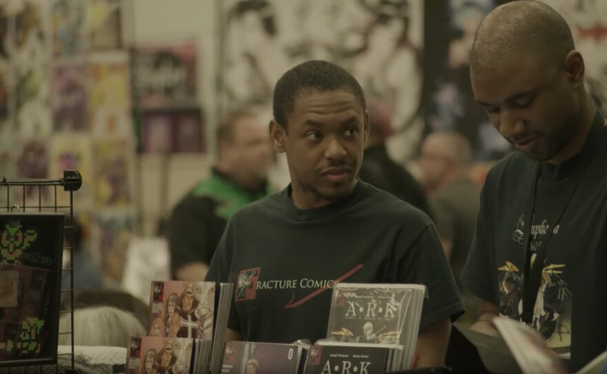 """""""Table Stakes"""" is a documentary short about African American comic book writers confronting challenges and stereotypes while pursuing their dreams. The film screens at the San Diego Black Film Festival."""