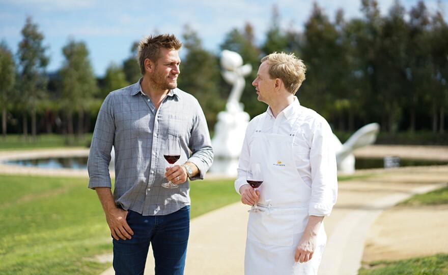 In Victoria, Curtis Stone takes a stroll through an extraordinary sculpture garden on Mornington Peninsula.