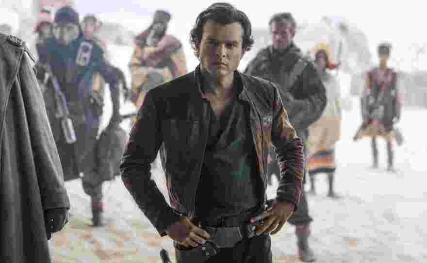 """Alden Ehrenreich proves surprisingly effective as the title character of """"Solo: A Star Wars Story."""""""