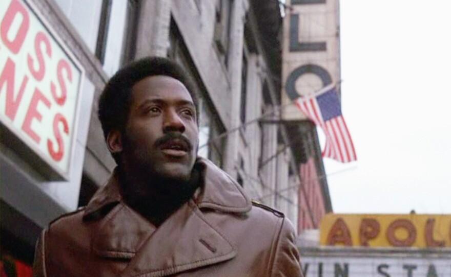 "Richard Roundtree in Gordon Parks' 1971 film ""Shaft."""