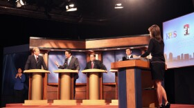 Faulconer and Fletcher had the most heated exchange of the debate. It centered on public safety and Fletcher having switched political parties in the last mayoral election.