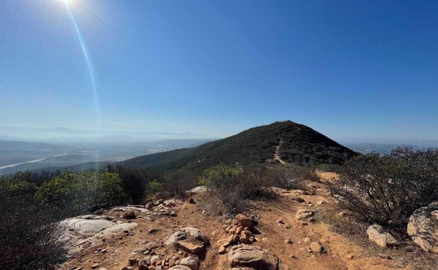 North Fortuna Mountain in Mission Trails Regional Park, San Diego, Calif. July 30, 2021.