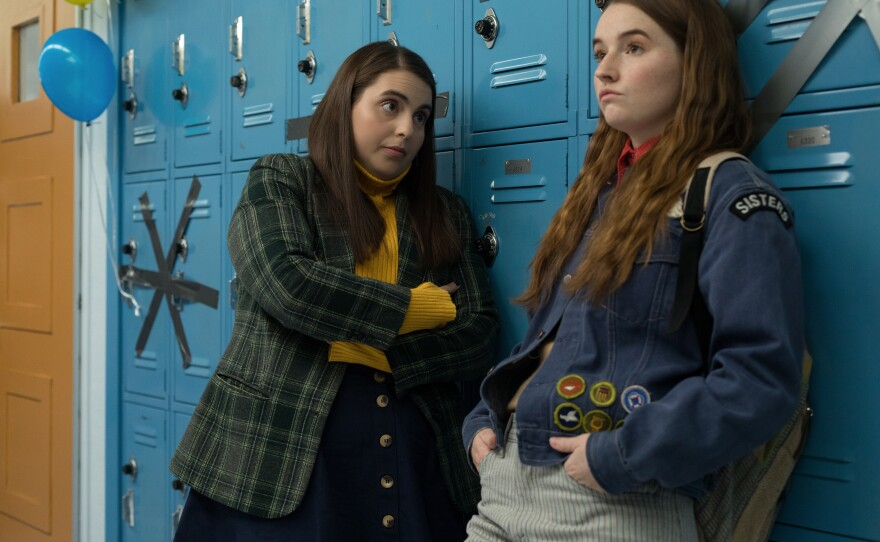 Molly (Beanie Feldstein) and Amy (Kaitlyn Dever) are straight-A students who decide to party the night before graduation.