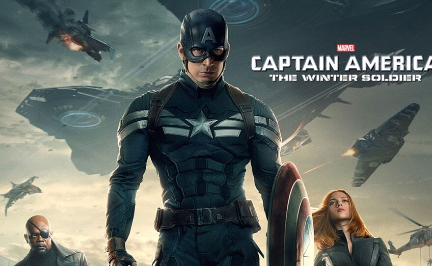 """""""Captain America: The Winter Soldier""""  was the film that made Professor Arnold T. Blumberg decide to teach a class on the Marvel Cinematic Universe."""