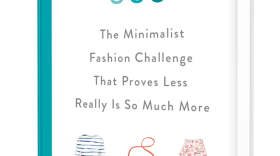 """The cover of the book, """"Project 333: The Minimalist Fashion Challenge That Proves Less Really Is So Much More."""""""