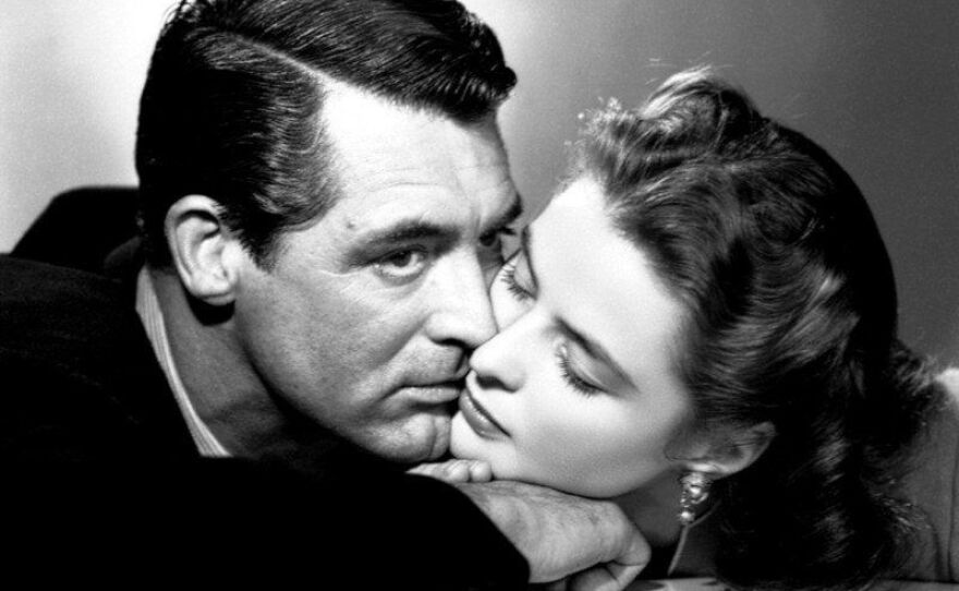 """Cary Grant and Ingrid Bergman star in Alfred Hitchcock's """"Notorious."""" The film screens this Friday and Saturday at Cinema Under the Stars, an outdoor venue in Golden Hill."""