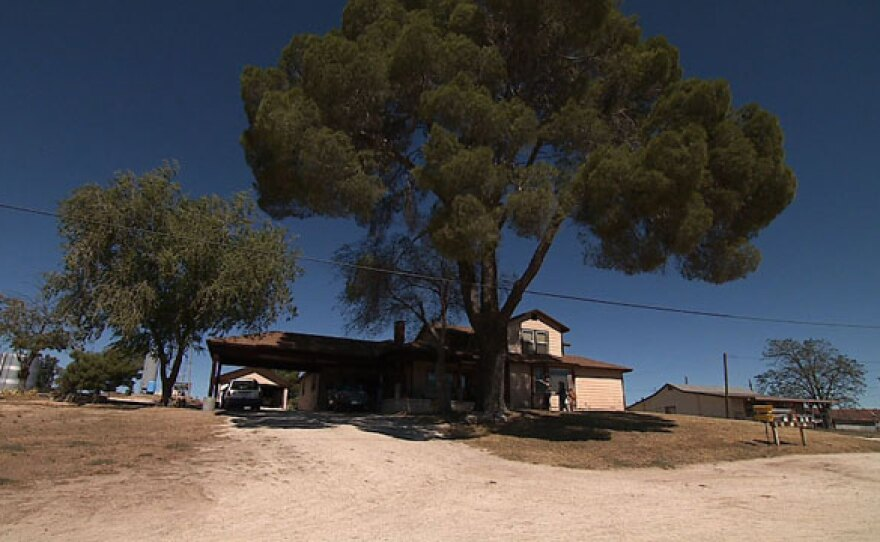 The Larry and Arby Johnson live in a Ranchhouse in Campo, 50 miles east of San Diego.