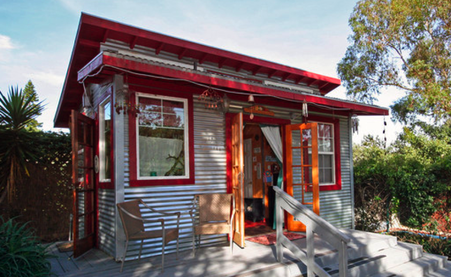 A studio in South Park rented out through the website Airbnb on Aug. 8, 2011.
