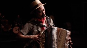 """Nicolas R. Valdez created the play """"Conjunto Blues"""" as a tribute to his grandparents, he also stars in the play."""