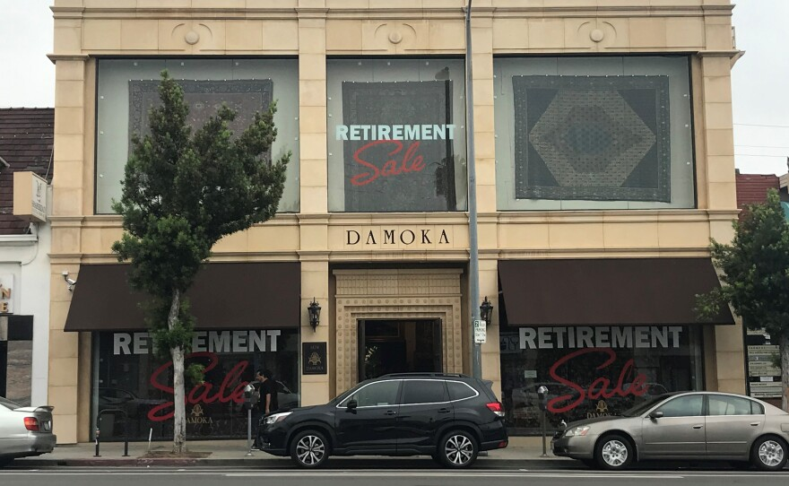 Alex Helmi opened Damoka in what is now Persian Square 30 years ago.