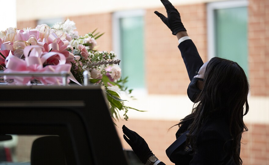 Funeral at Franklin Avenue Baptist Church, New Orleans. August 2020.