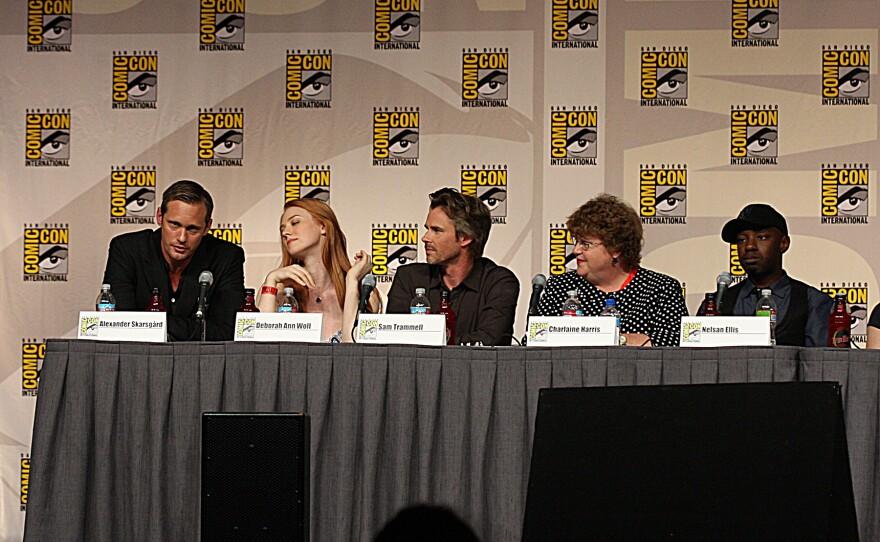 True Blood panel at Comic-Con, 2009