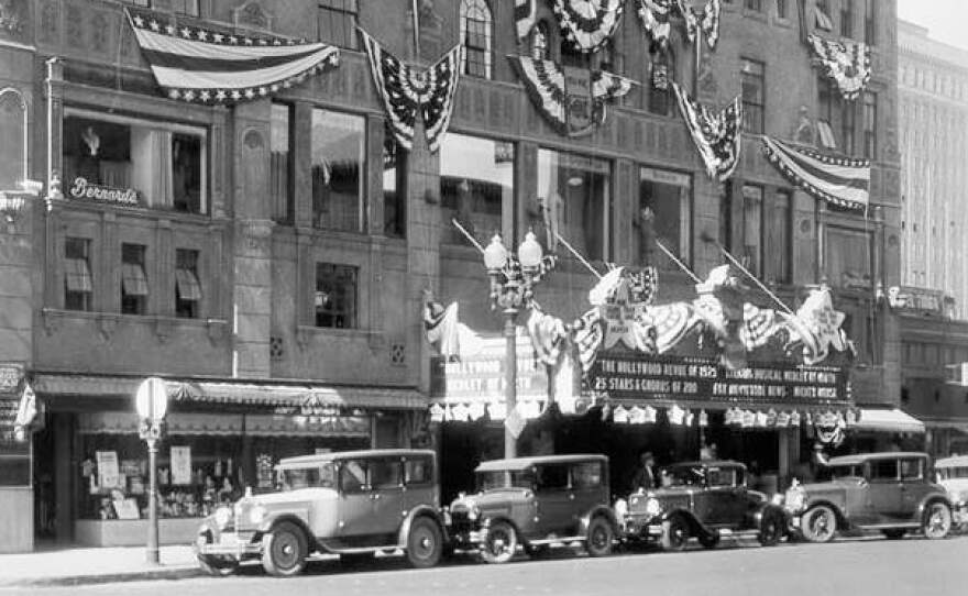 In 1929, two years after its grand opening, the California Theatre on 4th and C offered a glamorous night out for San Diegans.