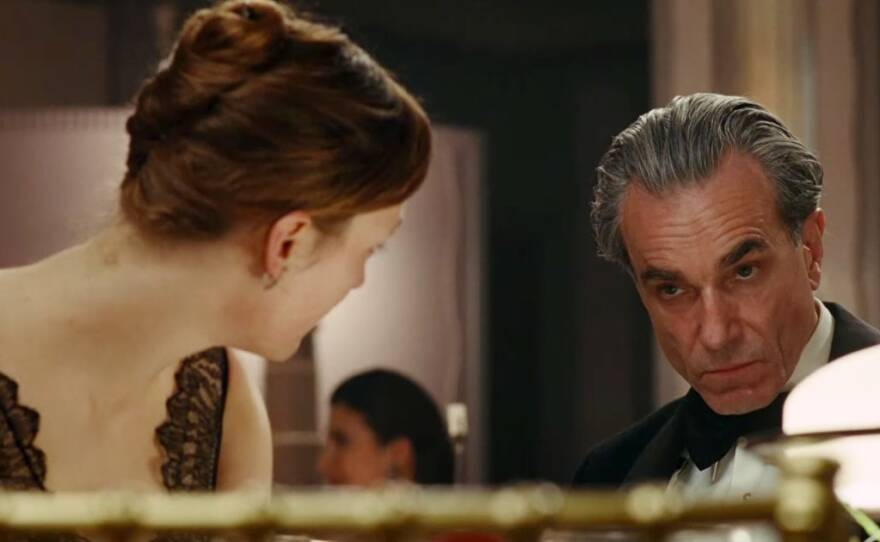 """Actor Daniel Day Lewis re-teams with director Paul Thomas Anderson for an unconventional love story in """"The Phantom Thread."""""""