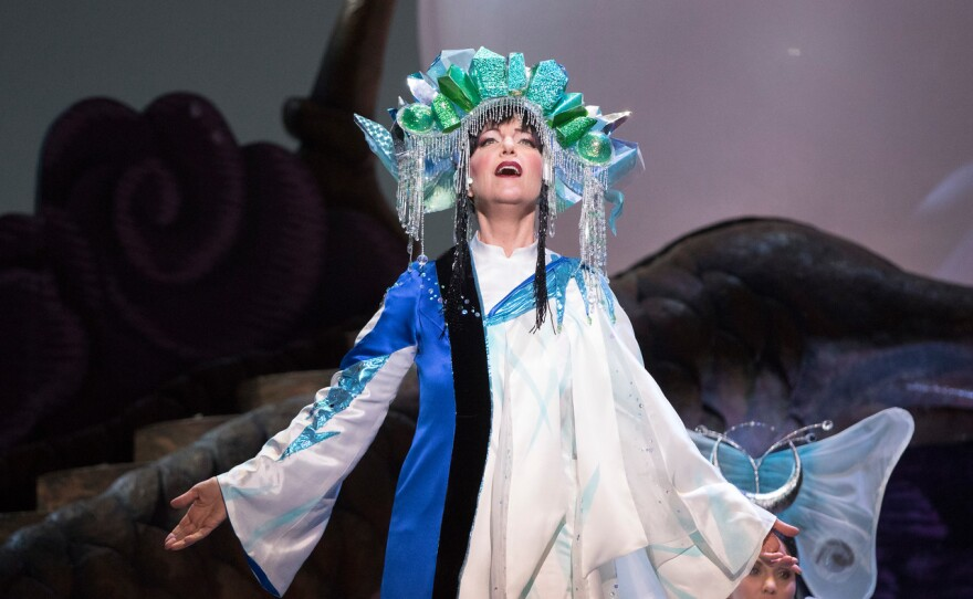 """Lise Lindstrom sings the title role of Puccini's """"Turandot."""""""