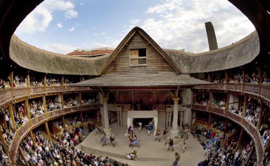 Shakespeare's Globe Theater, London, Britain, July 14, 2009.