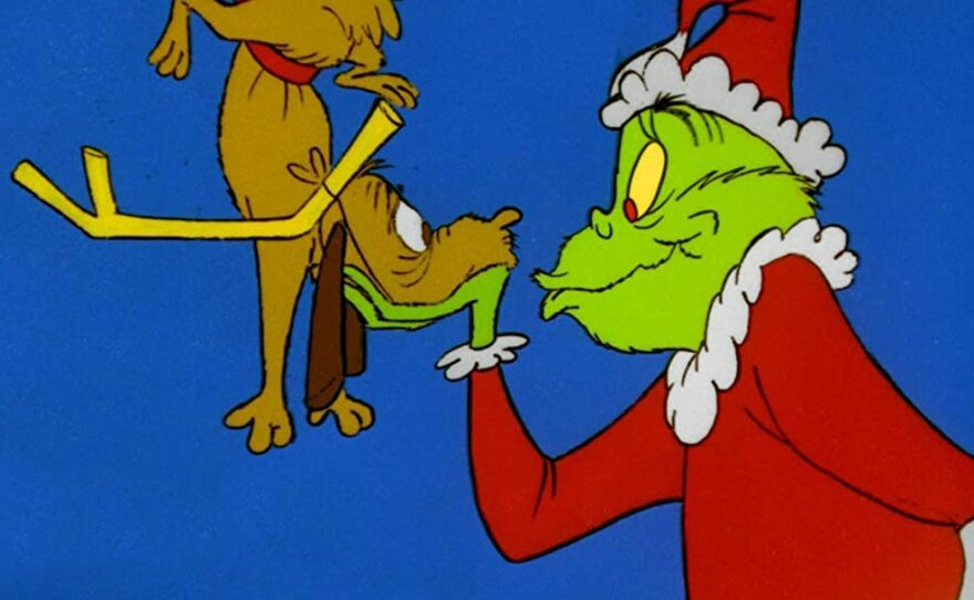 """The 1966 TV special """"How the Grinch Stole Christmas"""" featured Boris Karloff's voice as the narrator and the Grinch."""