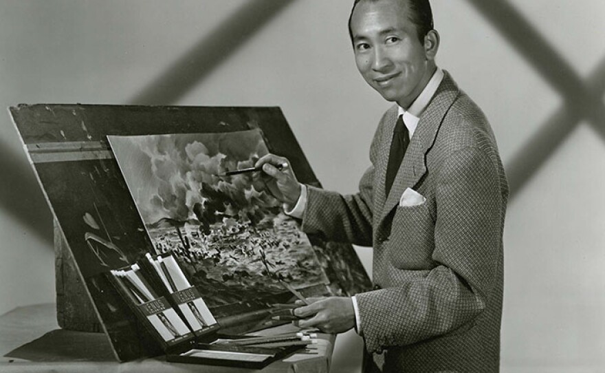 """Portrait of Tyrus Wong. Filmmaker Pamela Tom spotlights this seminal, but heretofore under-credited, figure in AMERICAN MASTERS """"Tyrus."""""""