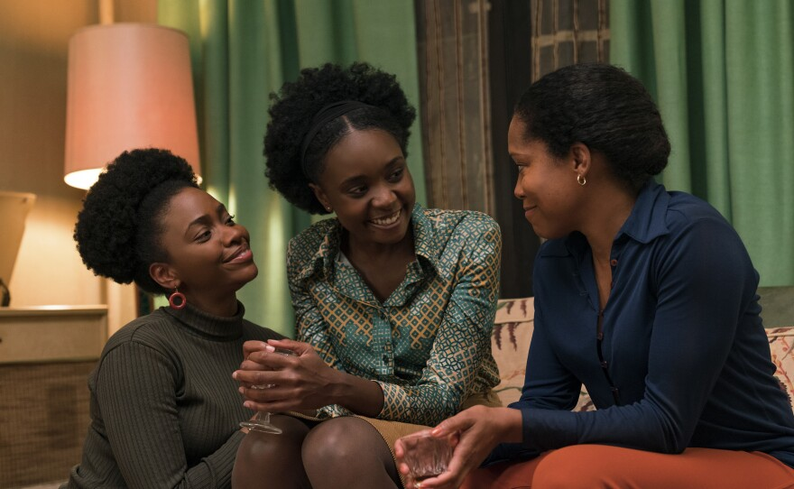 Teyonah Parris, KiKi Layne and Regina King star in If Beale Street Could Talk, adapted from James Baldwin's 1974 novel.