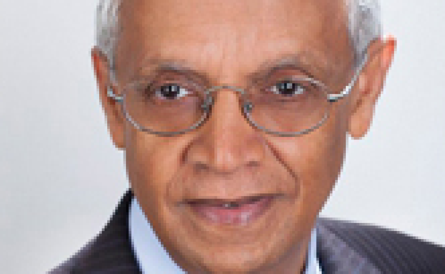 """Veerabhadran """"Ram"""" Ramanathan, Ph.D., is a distinguished professor of atmospheric and climate sciences at Scripps Institution of Oceanography."""
