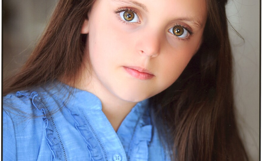 """Georgi James plays Olive in the La Jolla Playhouse premiere of the musical """"Little Miss Sunshine."""""""