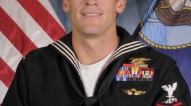 This file photo shows Navy Petty Officer 1st Class Charles Keating IV of San Diego.