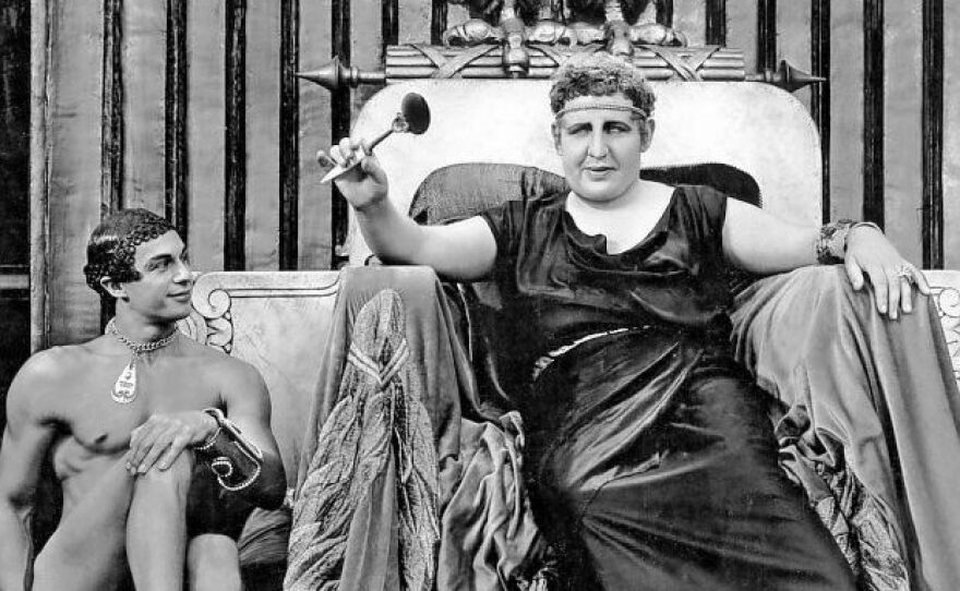 """Cecil B. DeMille's """"Sign of the Cross"""" features Charles Laughton as Emperor Nero Claudius Caesar. The film kicks off the Film Geeks SD's Breaking the Commandments: Pre-Code Hollywood series at Digital Gym Cinema on Jan. 6, 2019."""