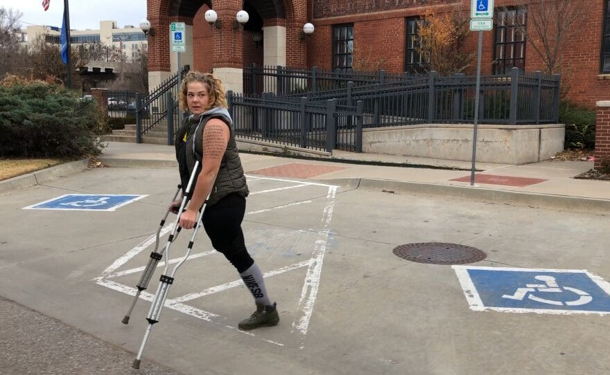 """Army veteran Kendra Lou Garza is one of four women featured in the documentary """"The Invisible Project,"""" which screens on Tuesday, May 18, 2021."""