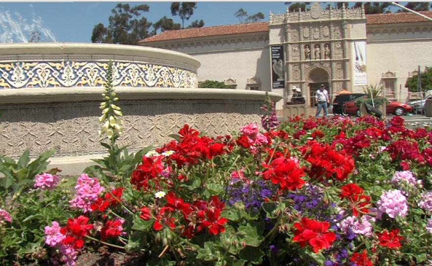 The center of Balboa Park, which would have been revamped under the Plaza de Panama proposal.