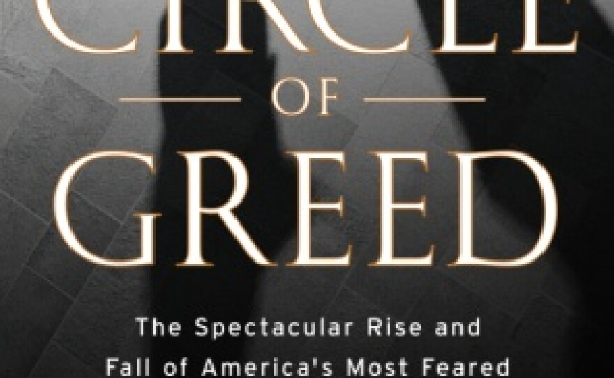 """Book cover for """"Circle Of Greed"""" by,  Patrick Dillon and Carl Cannon."""
