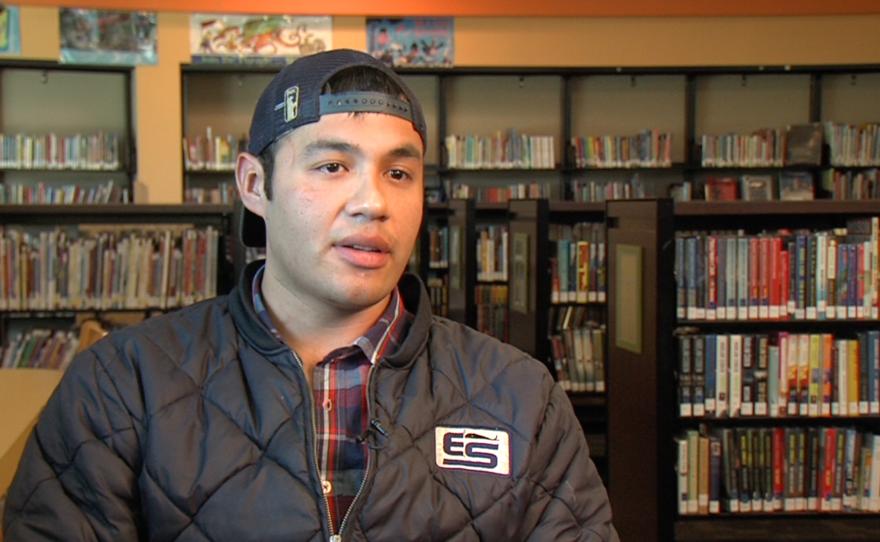 Humberto Navarrete looks back on the death of Anastasio Hernandez Rojas, May 20, 2015.