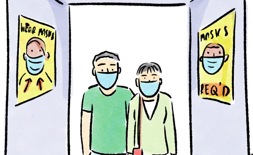 Coronavirus FAQs: A Vaccinated Person's Guide To COVID Exposure And Elevator Etiquette