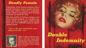 """The Signet Book cover for James M. Cain's novel """"Double Indemnity."""""""