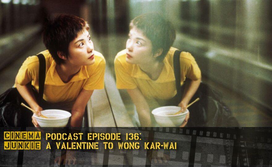 "Faye Wong as one of the lovers in Wong Kar-Wai's ""Chungking Express."""