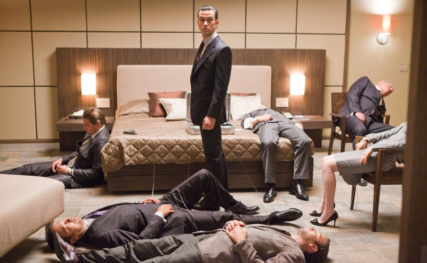 """""""Inception"""" is one of the films nominated for a Sound Editing Oscar this year."""