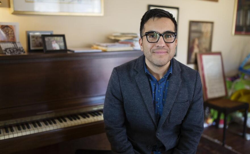 Ruben Valenzuela is the artistic director and founder of the Bach Collegium San Diego, a recent recipient of a $10,000 grant from the National Endowment for the Arts. Jan 27, 2016.