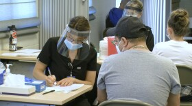 A new COVID-19 vaccination site is up and running in the South Bay at the Imperial Beach Civic Center.