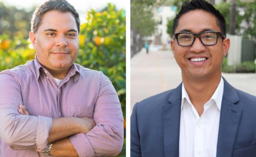Steve Padilla, left, and Jason Paguio.