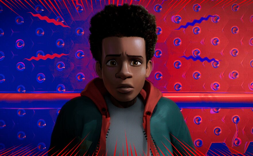 """""""Spider-Man: Into the Spiderverse"""" gave audiences a superhero in the person of Miles Morales, a young Black Puerto Rican kid."""