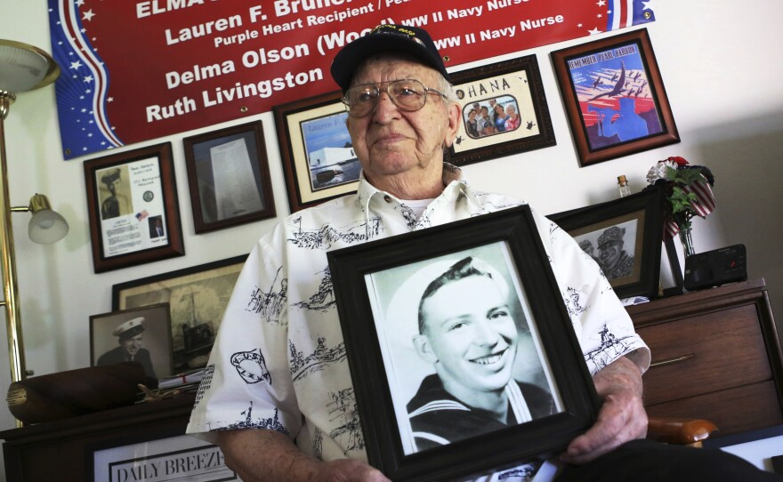 Lauren Bruner, a survivor of the USS Arizona which was attacked on Dec. 7, 1941, died earlier in 2019 at the age of 98.
