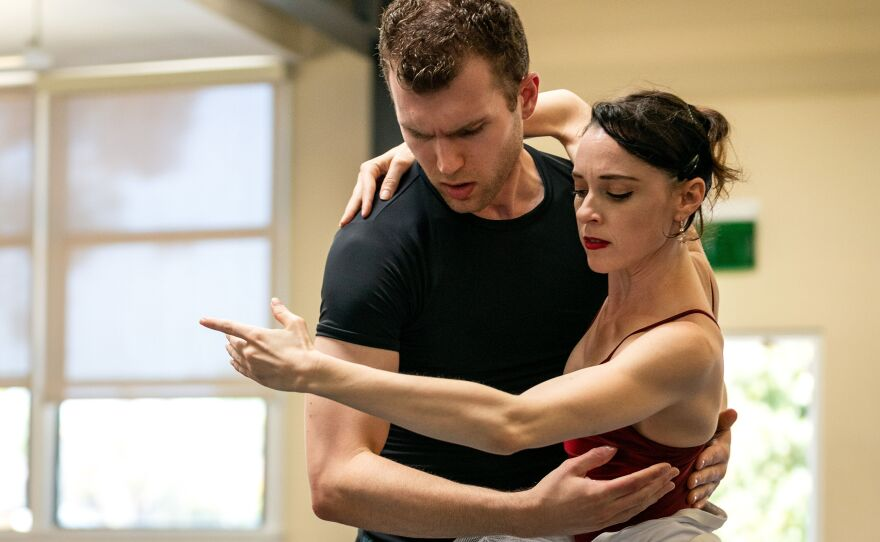 "A 2019 photo from San Diego Ballet's ""Romance: En Pointe!"""