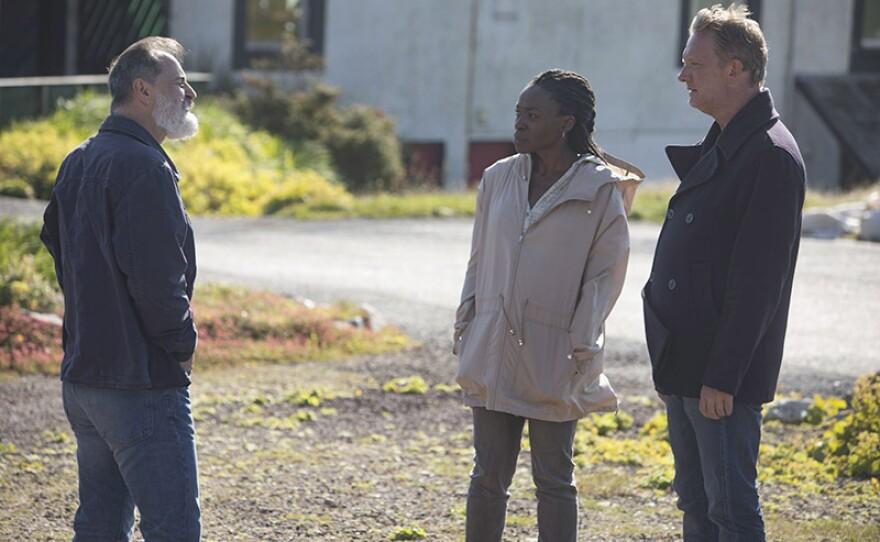 A scene from episode 4 of SHETLAND Season 5.