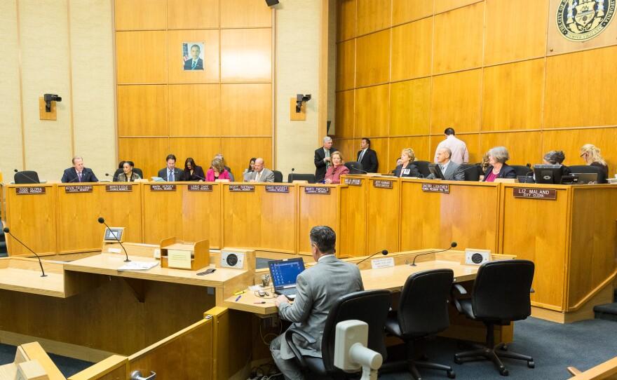 San Diego City Council meeting February 25, 2014.