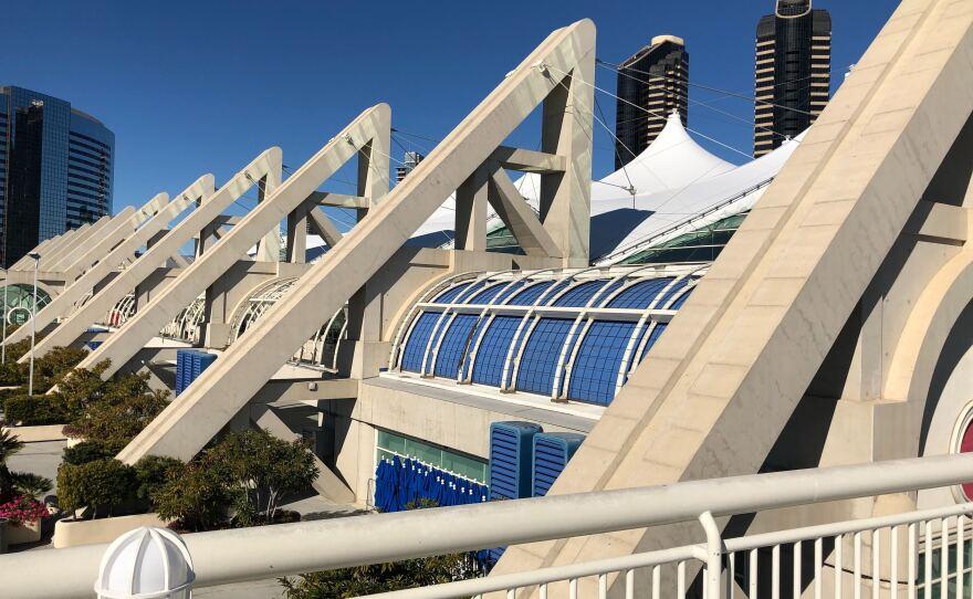 San Diego Convention Center on Jan. 14, 2020.