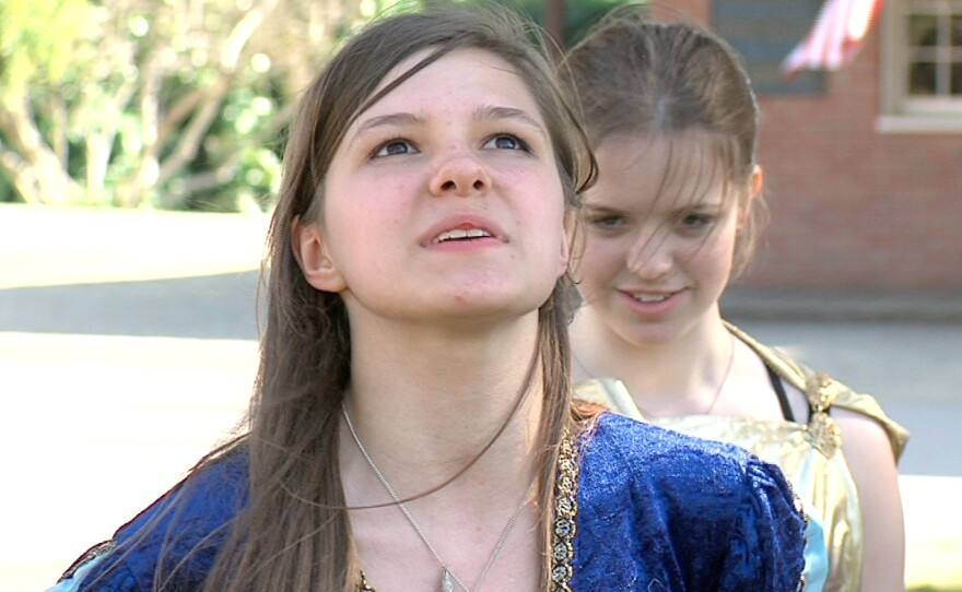 Anastasia Shumakova as Juliet.