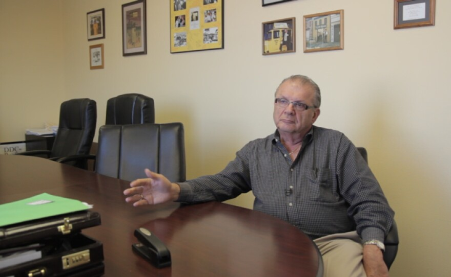 Anthony Palmeri owns Yellow Radio Service and sits on the MTS Taxicab Advisory Committee.