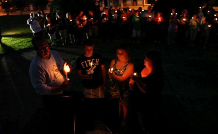 Stand for the Silent Vigil, Chattsworth, Georgia.