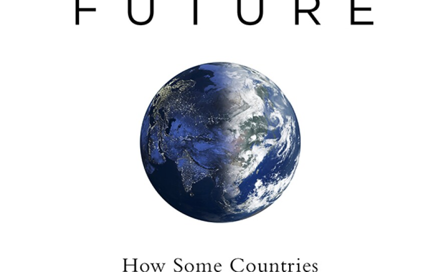 """The cover of """"A Bright Future"""" by Joshua Goldstein and Staffan Qvist."""