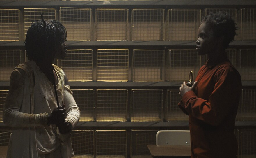 """Jordan Peele asks if we can face ourselves in his new film """"Us,"""" starring Lupita Nyong'o."""